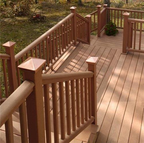 Wood Railing Gallery